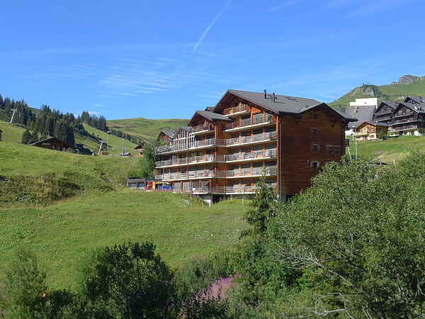 Apartment in Champoussin