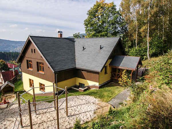 Villa i Albrechtice v Jizerských horách