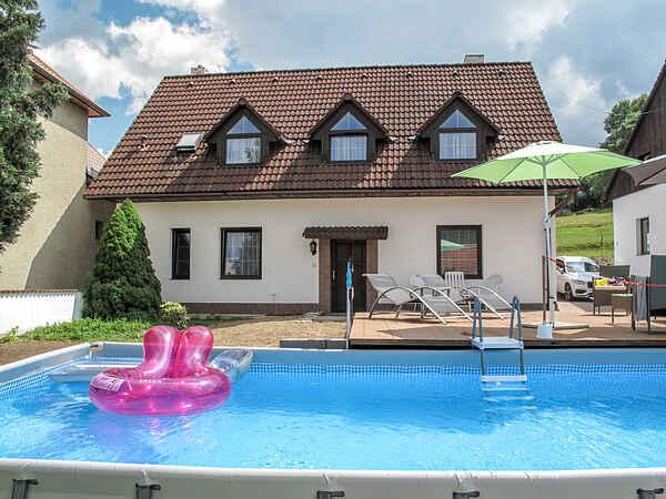 Villa in Hřivínův Újezd