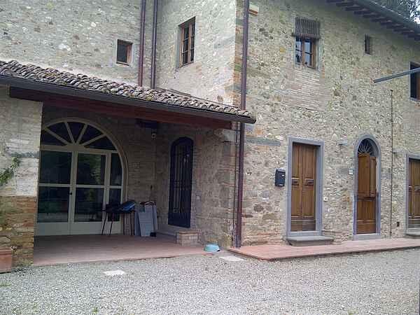 Casa colonica sulle colline del Chianti Classico