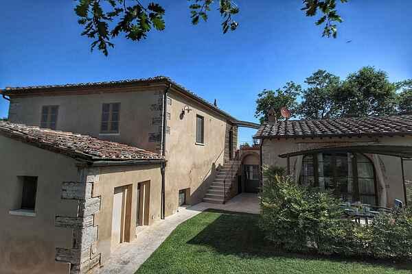 Herrgård i Rapolano Terme