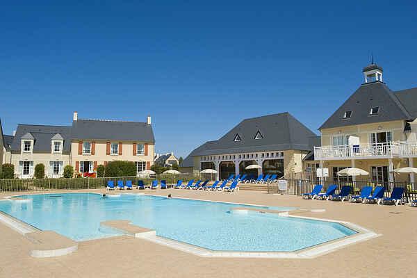Ferienwohnung in Sainte-Honorine-des-Pertes