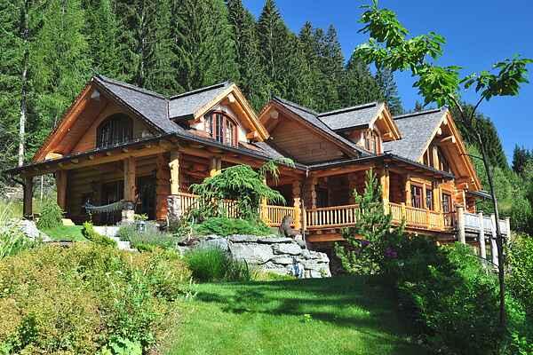 Landhaus in Obertschern
