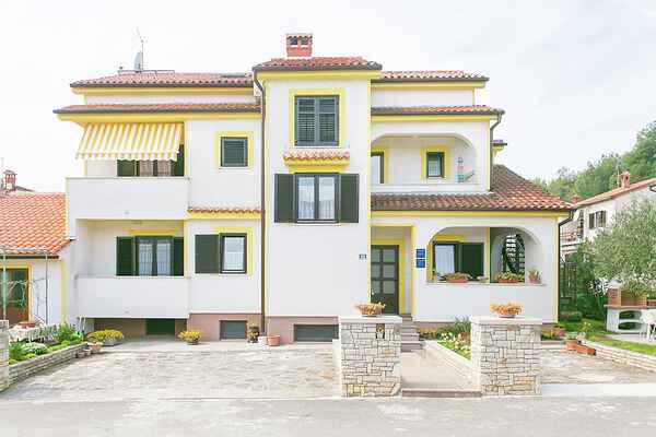 Gårdhus i Poreč