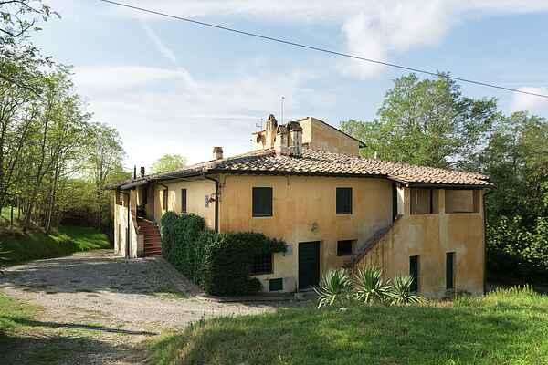 Farmhaus in Peccioli
