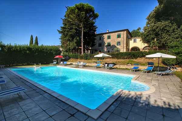 Gårdhus i Villa del Marchese