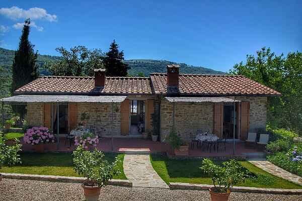 Gårdhus i Loro Ciuffenna