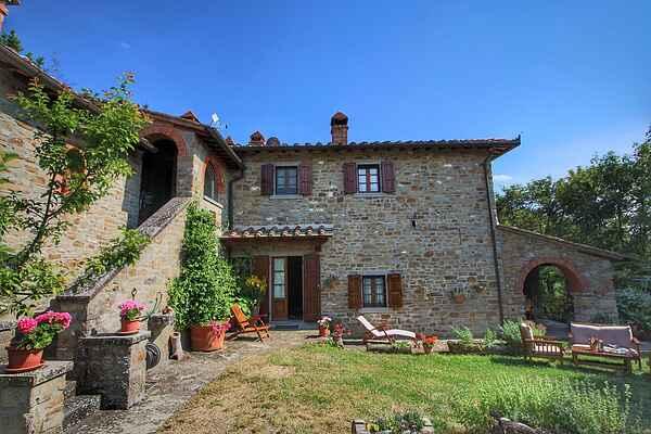 Farmhaus in Cortona