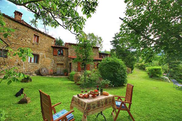 Gårdhus i Cortona