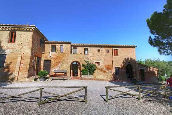 Farmhaus in San Giovanni d'Asso