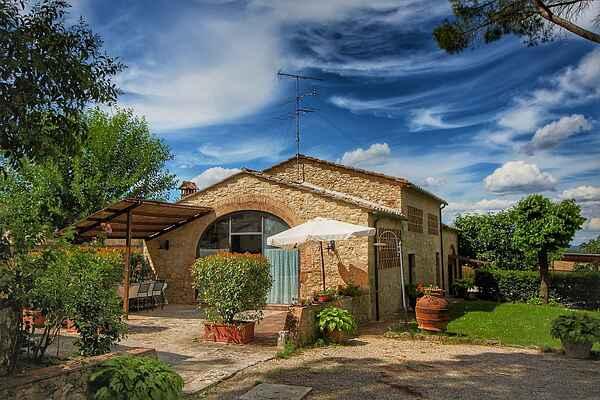 Ferienhaus in Mensanello
