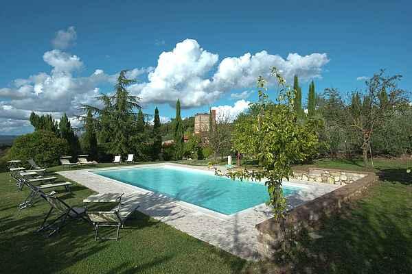 Villa i Rapolano Terme