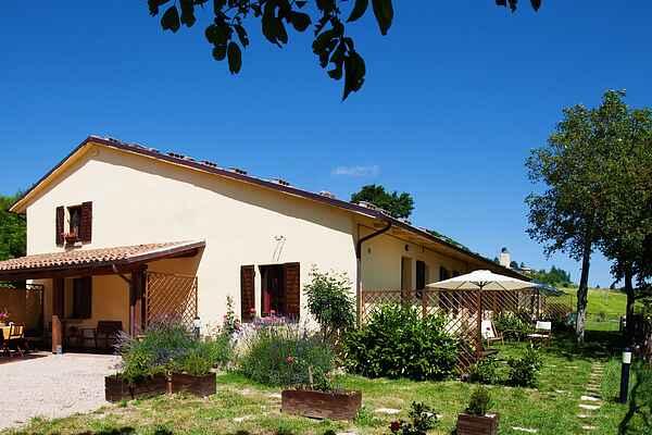 Gårdhus i Cagli