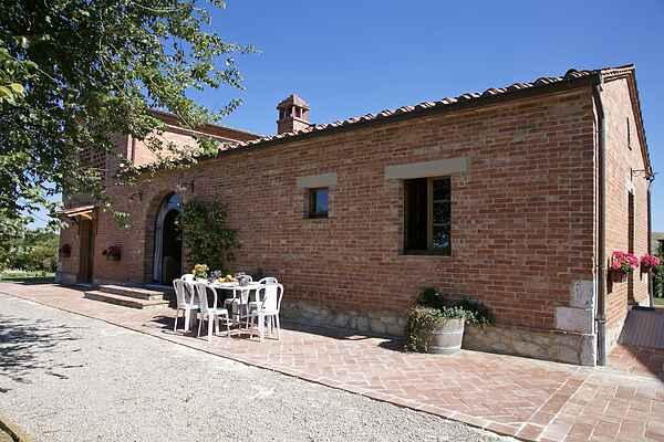 Gårdhus i Castelnuovo Berardenga