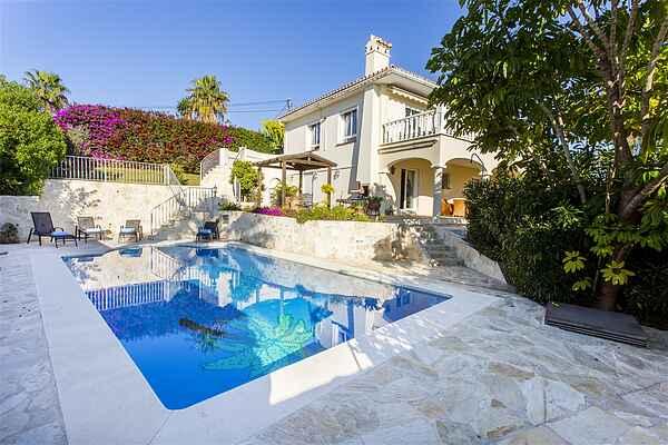 Villa near beach in Marbella