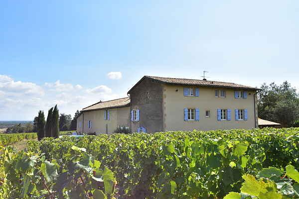 Manor house in La Chapelle-de-Guinchay