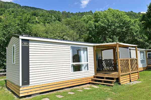Mobile home in Sachsenburg