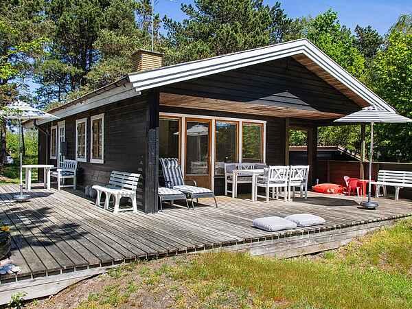 Casa de vacaciones en Ebbeløkke Strand