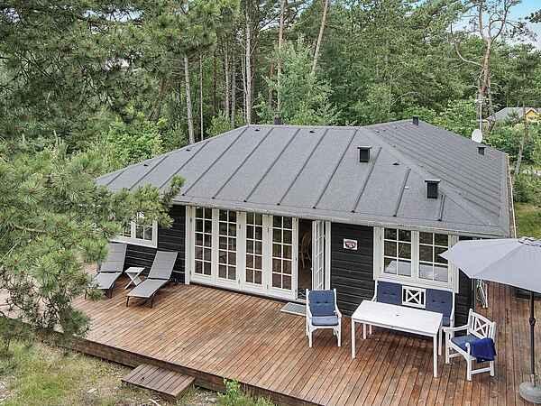 Ferienhaus in Snogebæk