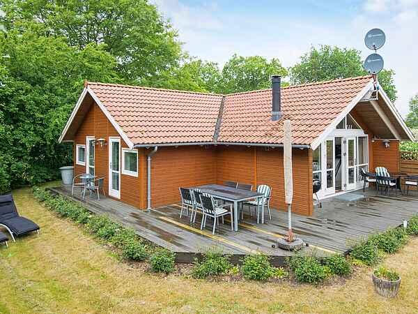 Sommerhus ved Skovgårde Strand