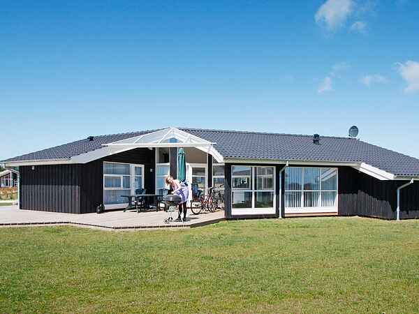 Sommerhus ved Spodsbjerg Strand