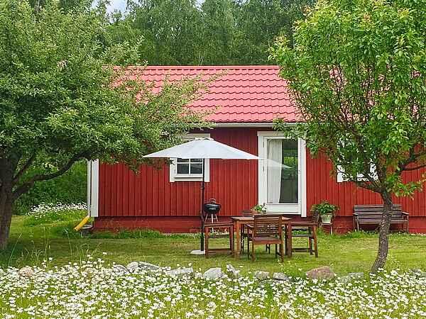 Ferienhaus in Stenhamra