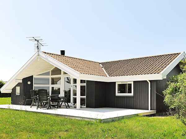Sommerhus ved Helnæs Strand