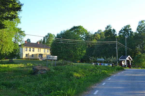 Former school building in the heart of Värmland