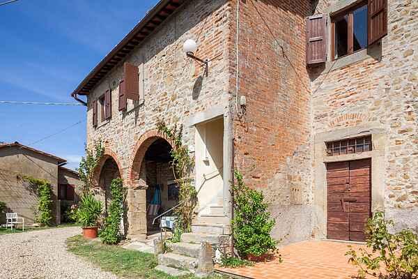 Gårdhus i Pulicciano