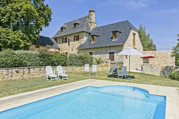 Sommerhus i Grèzes
