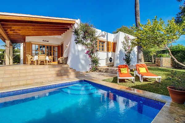 Villa nær stranden med pool, Porto Cristo, Mallorca