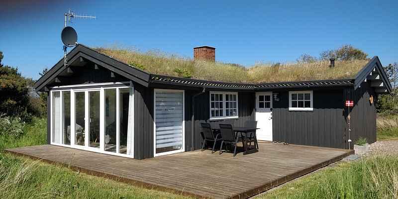 Semesterbostad vid Tornby Strand